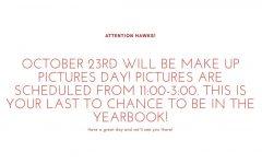 Picture Make-up/Retake Day