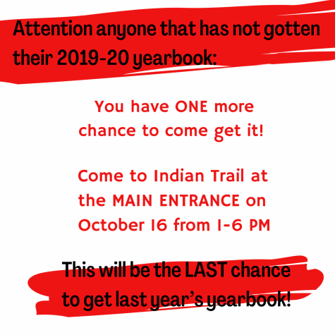 Final 2020 Yearbook Pick Up