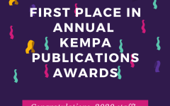 2020 Blaze staff is awarded first place in annual KEMPA publication awards