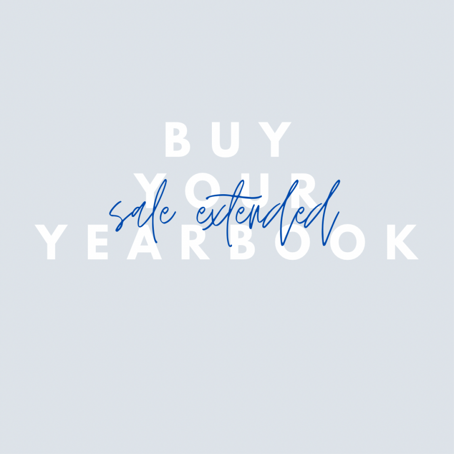 Sales Extended - Buy your yearbook today