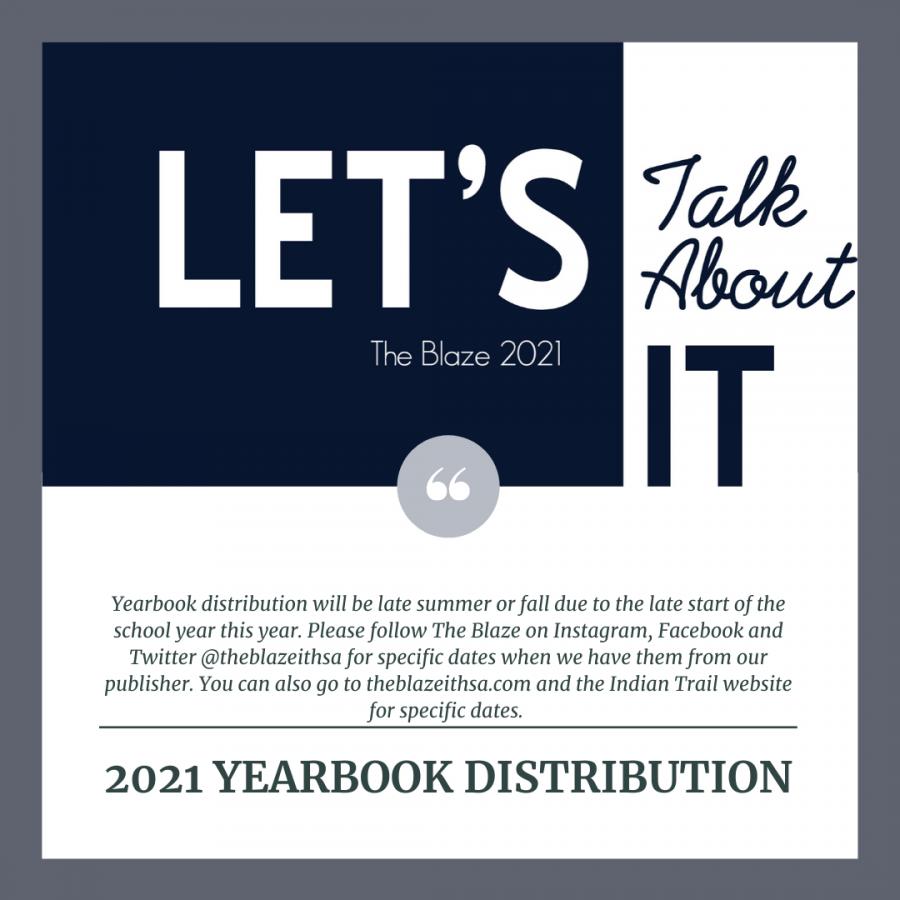 2021 Yearbook Distribution Update